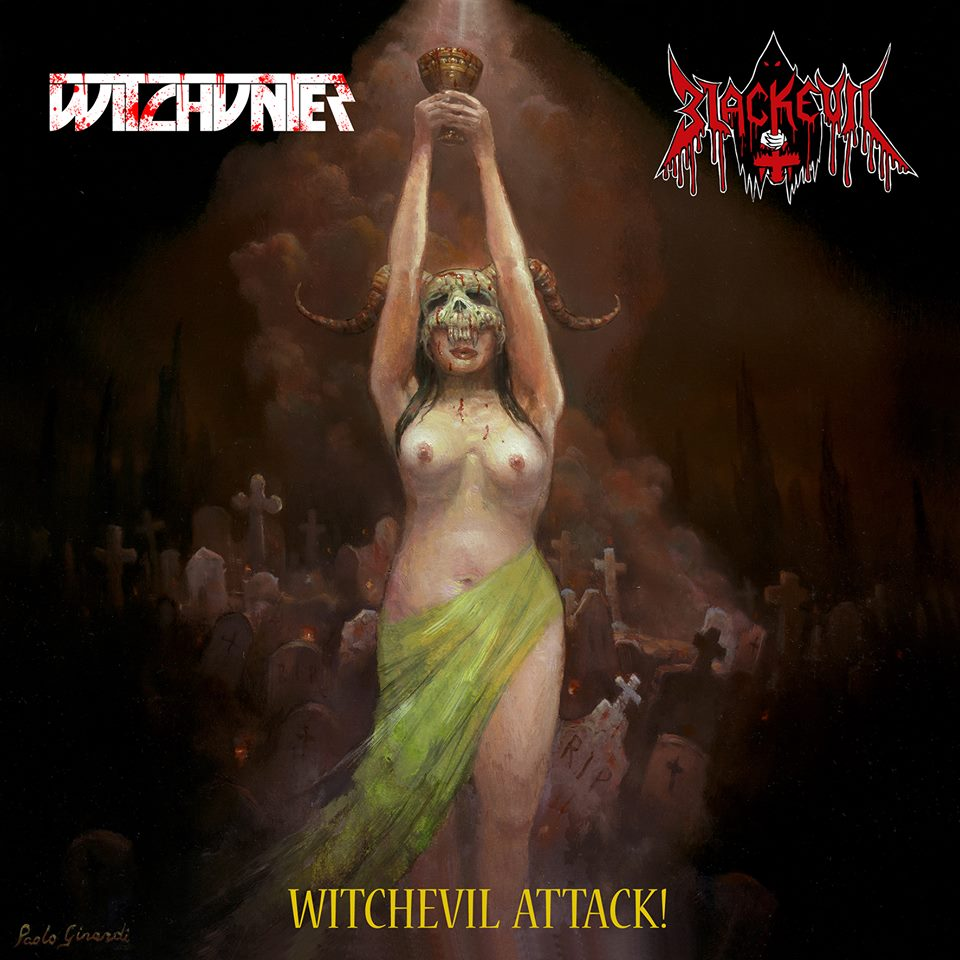 Witchevil Attack! Cover
