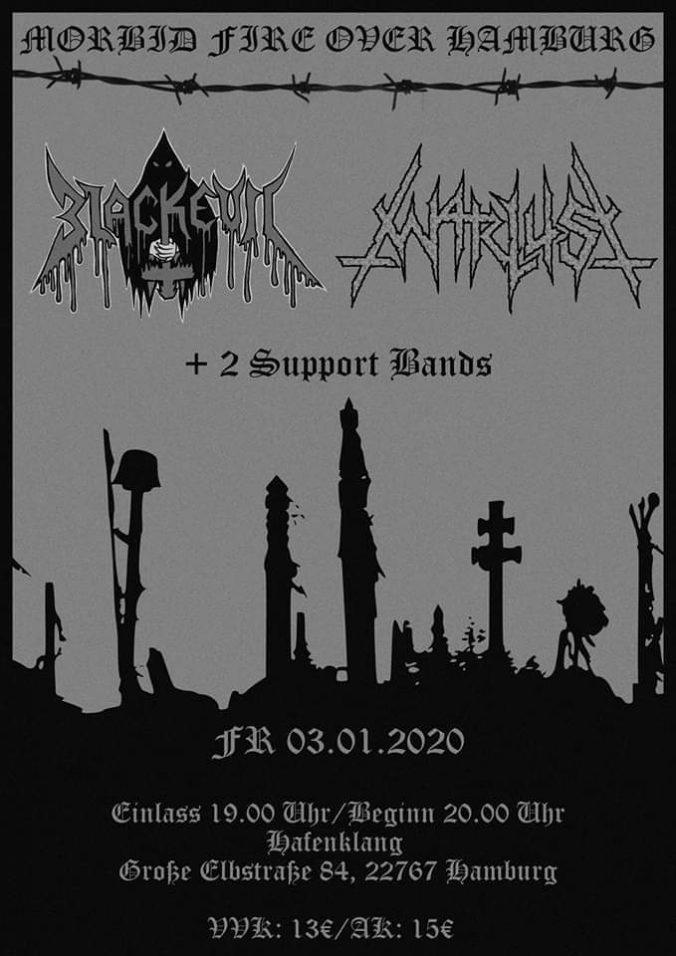 03 Jan 2020 - Morbid Fire Over Hamburg, Hafenklang - Blackevil, Warlust