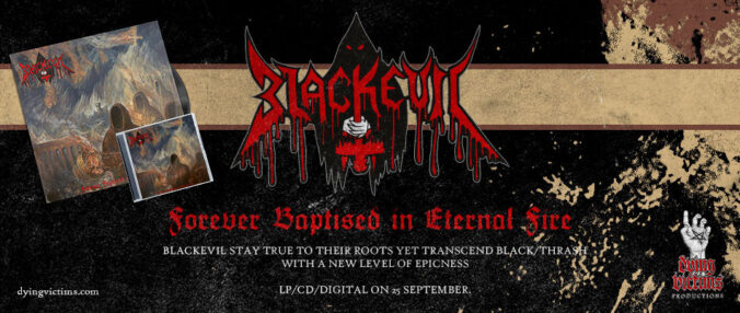 New album FOREVER BAPTISED IN ETERNAL FIRE out 25 Sep 2020